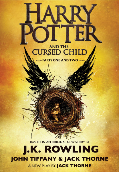 #1. Harry Potter and the Cursed Child, Parts 1 & 2, Special Rehearsal Edition Script by J.K. Rowling, Jack Thorne and John Tiffany  Amazon announced the best-selling books of 2016 earlier this week! How many have you read? (Image: Amazon.com)