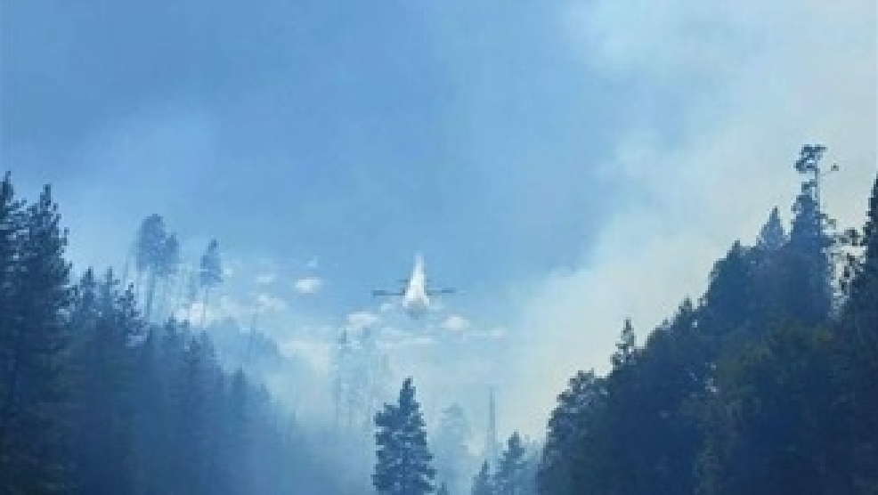Kyburz Fire Downgrades To 75 Acres 98 Percent Contained Krnv
