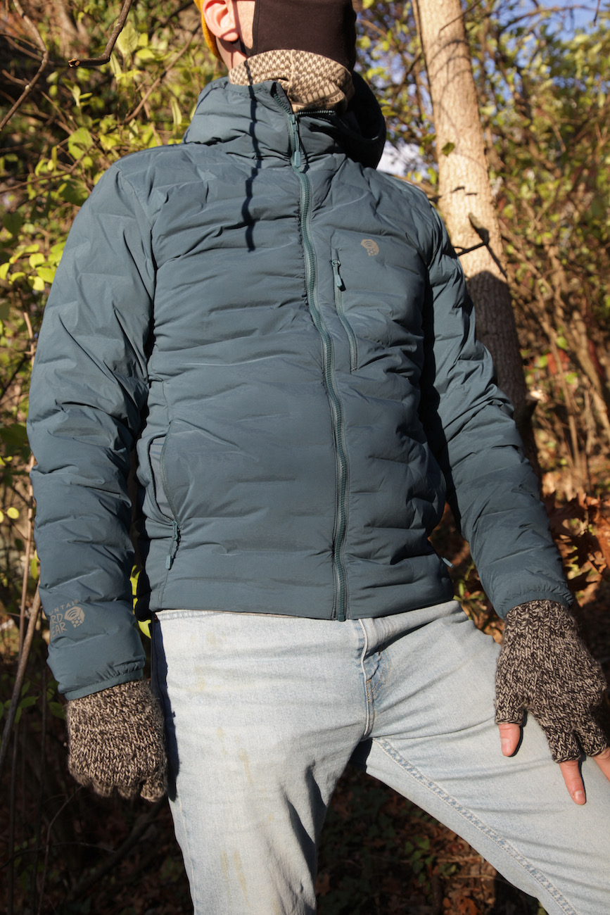 "Mountain Hardware's Super/DS Stretchdown Hooded Jacket is a lightweight, breathable down jacket that utilizes Stretchdown, which weaves pockets of down insulation within a single stretch fabric that allows you more freedom to move. /{&nbsp;}<a  href=""https://www.mountainhardwear.com/p/mens-super%2Fds-stretchdown-hooded-jacket-1846421.html"" target=""_blank"" title=""https://www.mountainhardwear.com/p/mens-super%2Fds-stretchdown-hooded-jacket-1846421.html"">Website</a>{&nbsp;}/ Price: $275 / Image: Chez Chesak // Published: 12.6.20"
