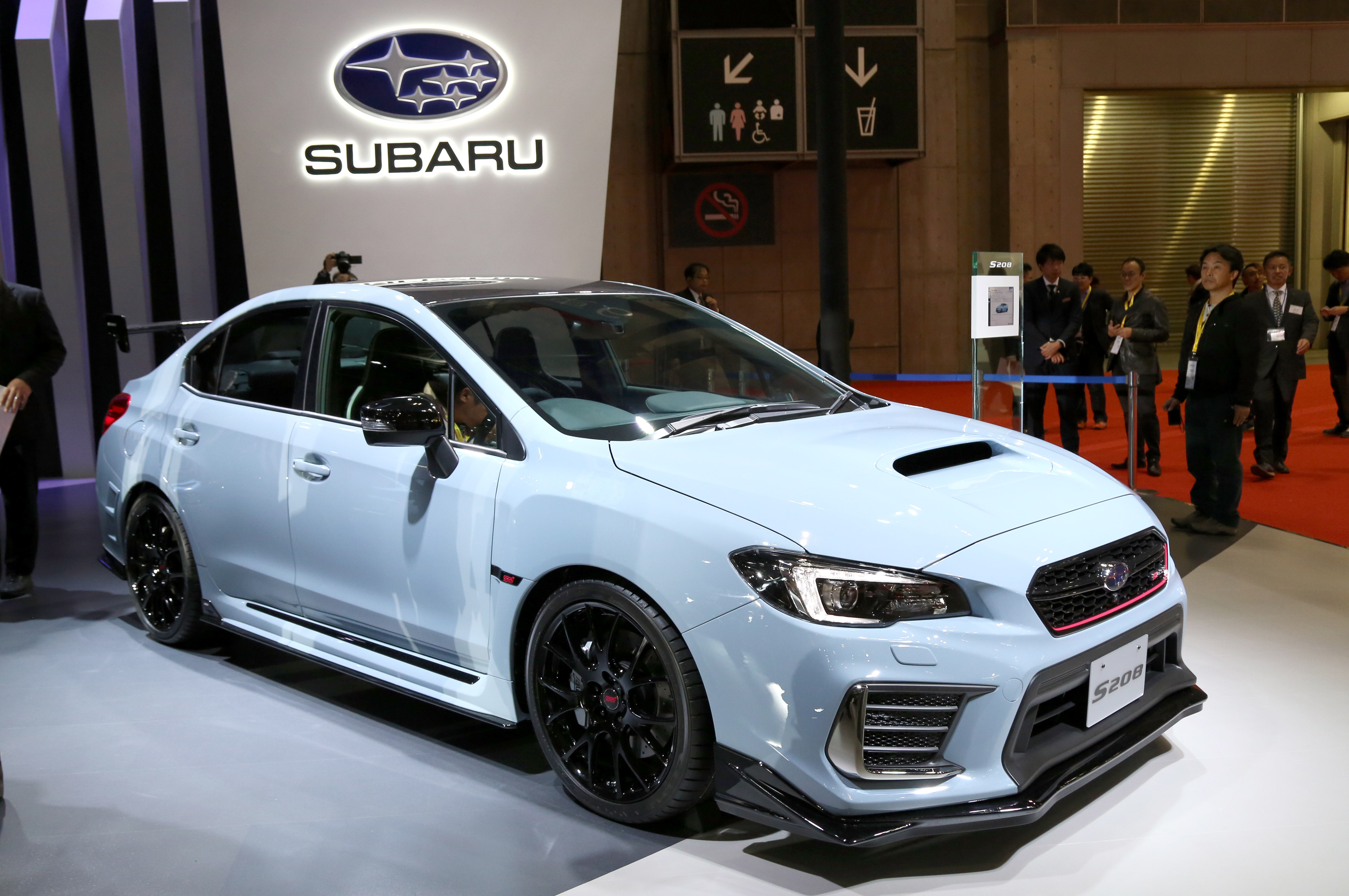 Tokyo Motor Show 2017  Featuring: Subaru WRX STI S208 Where: Tokyo, Japan When: 25 Oct 2017 Credit: Yukio Tomita/Future Image/WENN.com  **Not available for publication in Germany**