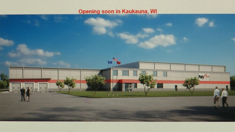 PolyFlex, a plastics manufacturing coming is expanding and bringing 40 jobs to Kaukauna