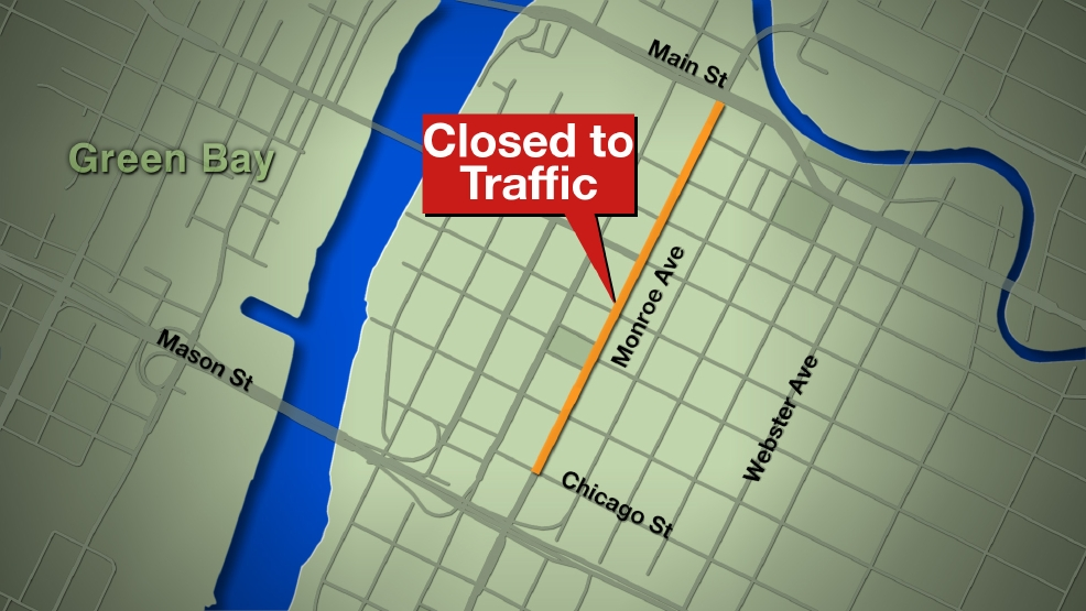 Monroe Avenue will be closed starting Thursday to traffic between Chicago and Main streets.