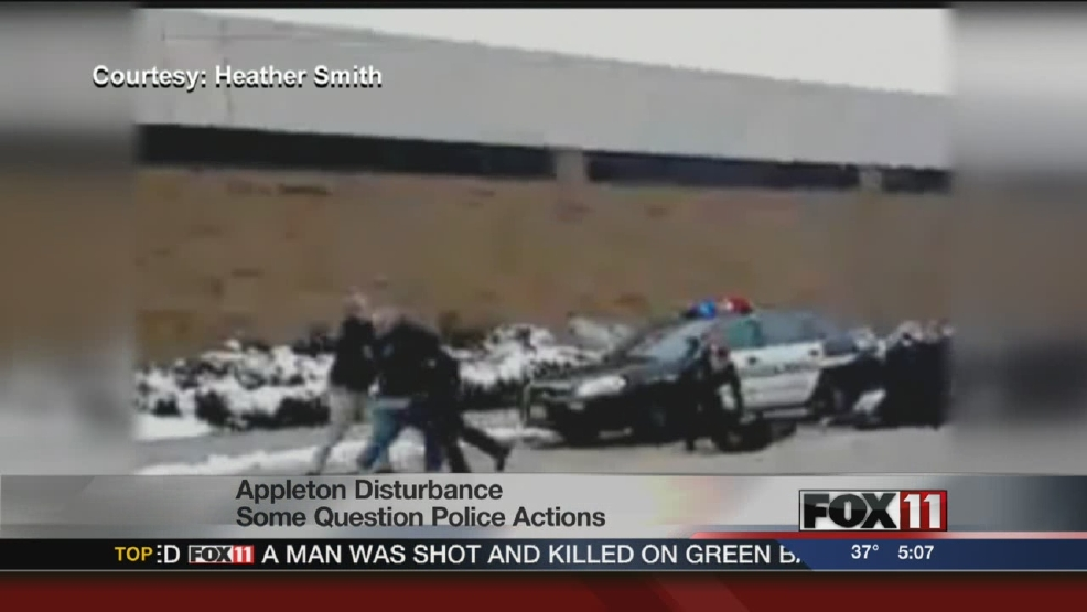 Both Sides: Some question police actions after Appleton disturbance