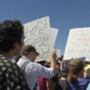 Thousands of protestors march to Tornillo Port of Entry