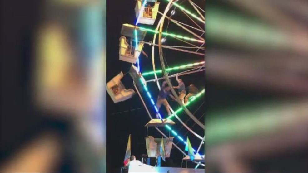 Ferris wheel accident caught on camera | KBAK