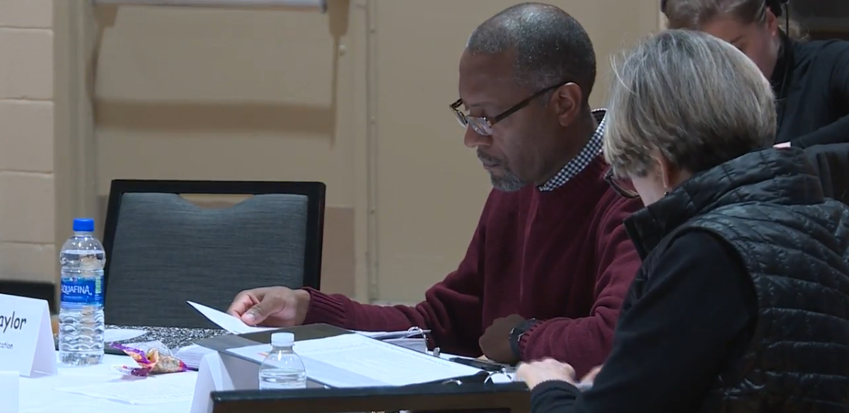 Benton Harbor Schools leaders discussed district improvements and state goals. // WSBT 22 Photo