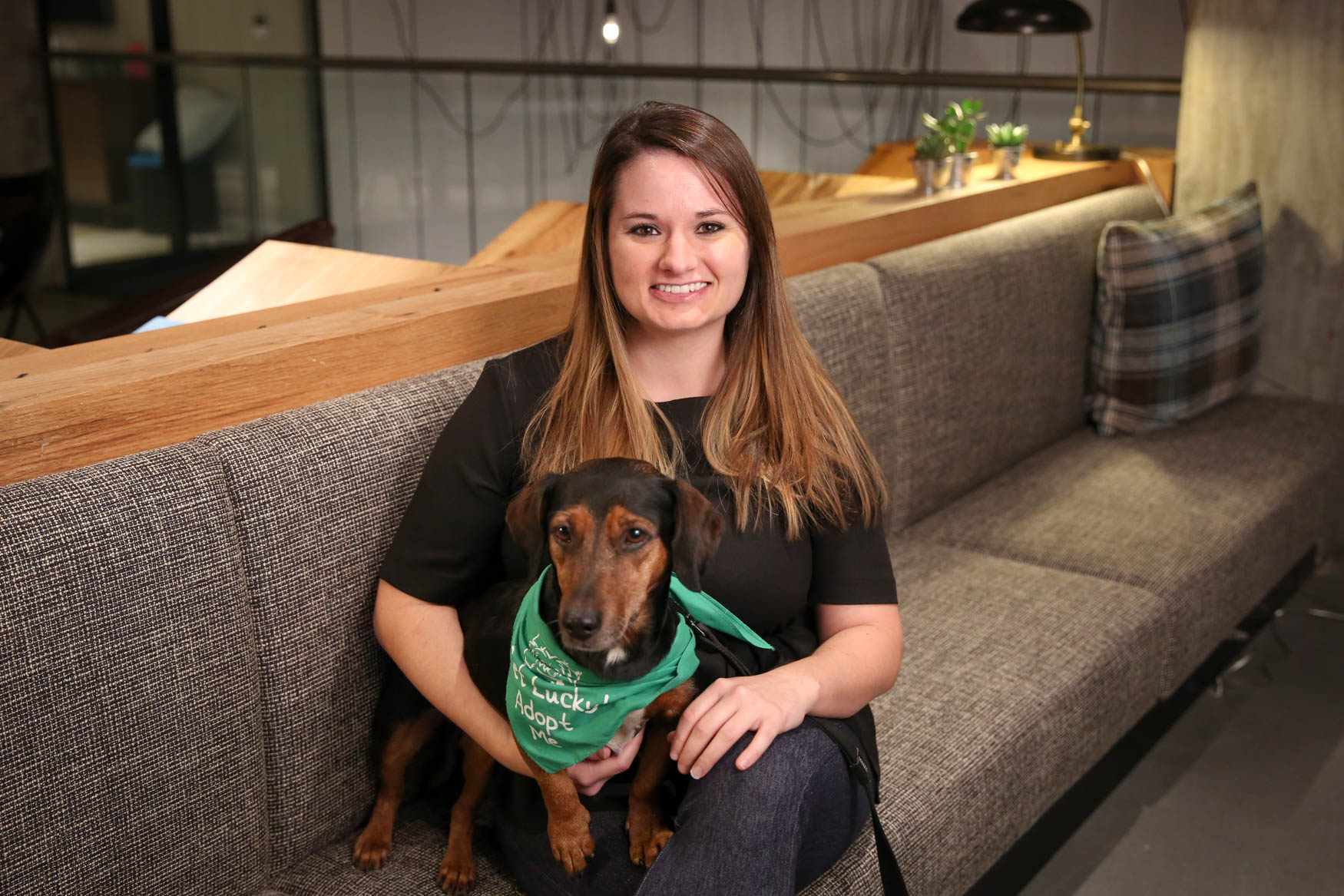 Brittany is originally from Charleston, SC and currently works as an analyst. Her hobbies include traveling, plying with her dog and getting lost. Learn more about on Brittany our Facebook page. Photo location: Moxy Washington, D.C. Downtown (Image: Amanda Andrade-Rhoades/ DC Refined)