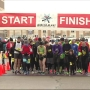 Hundreds turn out for the Portage Winter Blast Half Marathon