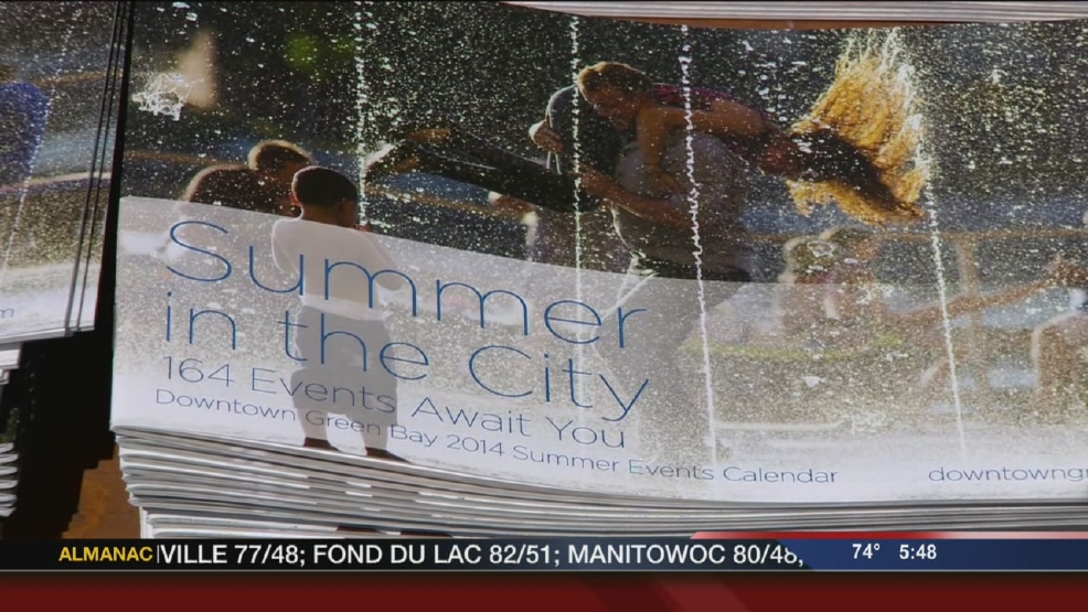 "Green Bay announces ""Summer in the City"" events"