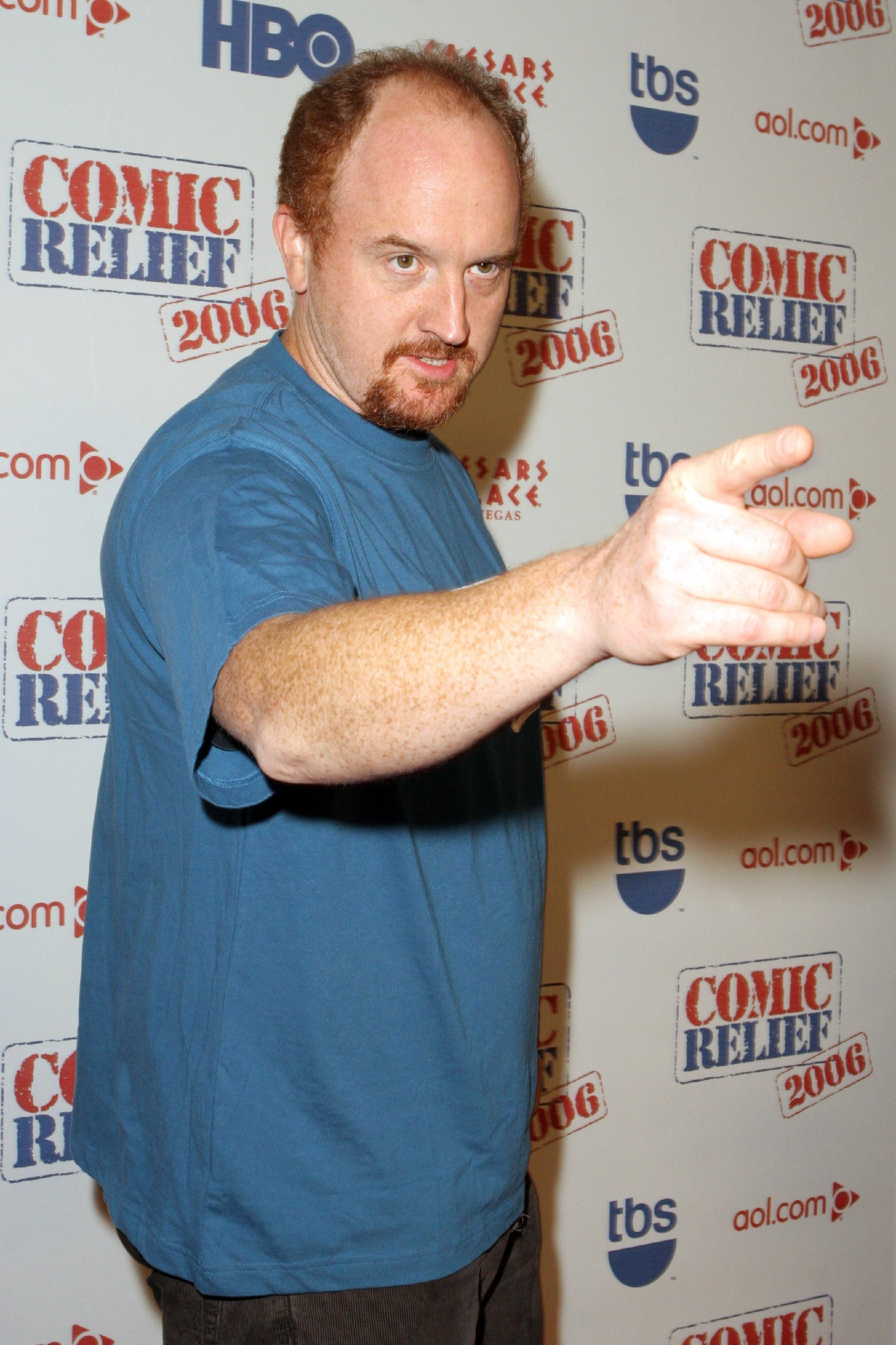 Louis C K at Comic Relief 2006, the live all-star comedy event to help families affected by Hurricane Katrina at Caesars Palace Las Vegas, Nevada - 18.11.06  Featuring: Louis C K Where: United States When: 18 Nov 2006 Credit: Judy Eddy / WENN