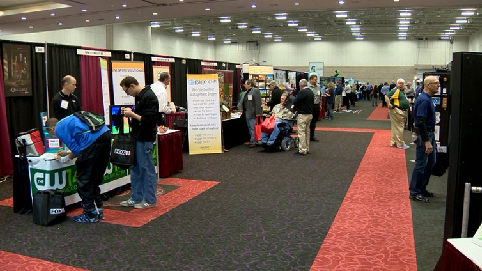 The Green Bay Area Chamber of Commerce's Business Expo 2014 at the KI Convention Center in Green Bay, Tuesday, March 4, 2014.