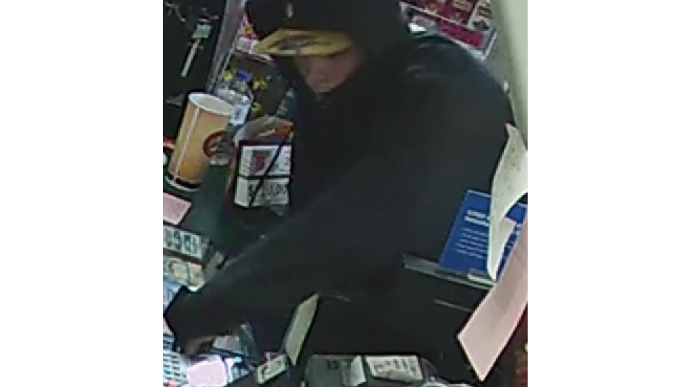 Surveillance image from the June 2, 2014, armed robbery of the U-Pump Citgo, 1233 Velp Ave. (Green Bay Police Dept.)