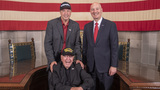 99-year-old WWII veteran visits Nebraska on national tour