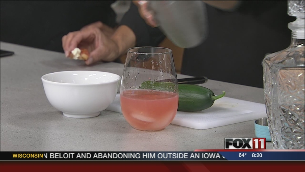 Daniel Fisher and Jacqueline Gillespie of Indulge Catering showed us how to turn a summertime favorite into some unique dishes perfect for a garden party.