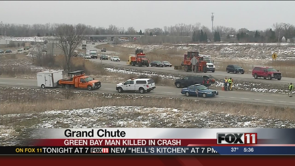 Green Bay man dies in Grand Chute crash