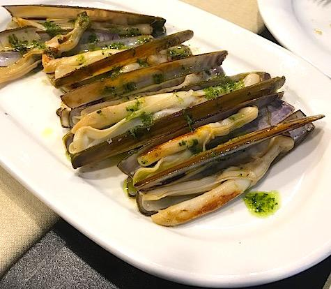 Some food highlights of the trip were Razor Clams at Arros i Peix in Girona, Spain and tapas at Quimet & Quimet and Seafood Paella at Barraca in Barcelona. (Image: Courtesy Jeff Tunks)