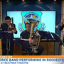 U.S. Air Force Band performing in Rochester