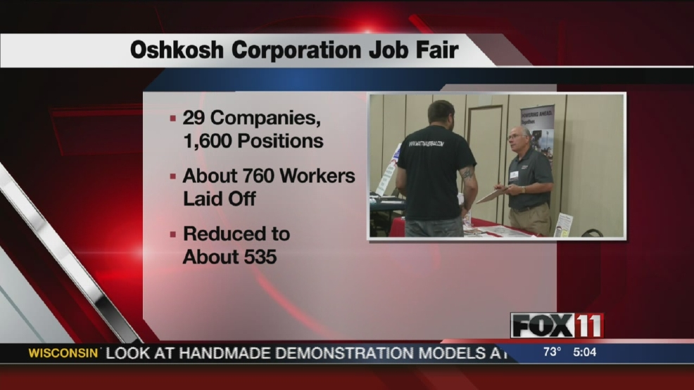 Job fair held for Oshkosh Defense workers