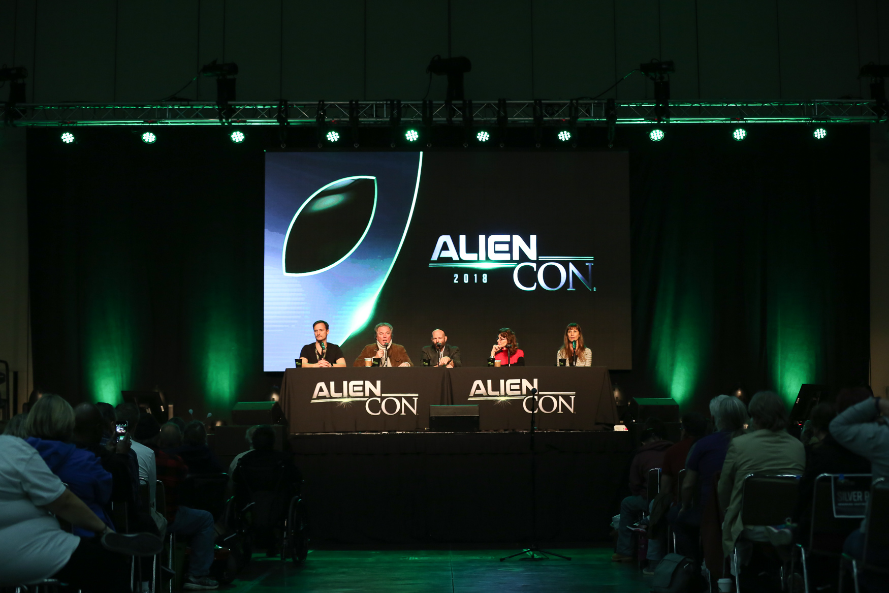 An invasion came to Baltimore this weekend in the form of AlienCon, a three-day convention focused on aliens. The convention, which is also held in Pasadena, California, featured speakers like{ }Giorgio A. Tsoukalos from History Channel's 'Ancient Aliens', actors from Star Trek and paranormal researchers with enthusiastic fan bases. Although the convention was geared towards believers more than skeptics, people from every walk of life lined up to learn about topics like alien abductions and how extraterrestrials allegedly helped build Stonehenge. (Amanda Andrade-Rhoades)