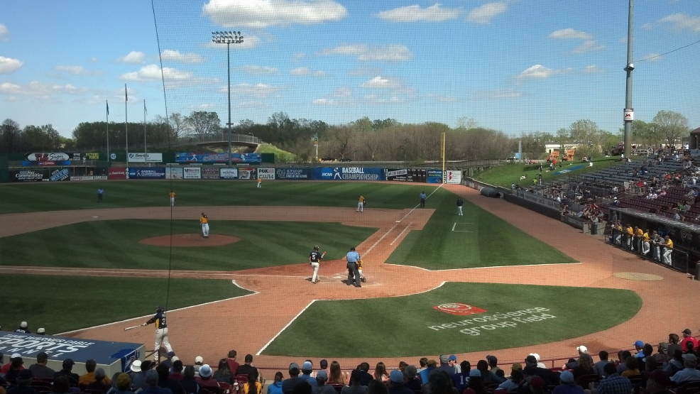 Fox Cities Stadium hosts the NCAA Division 3 baseball tournament.