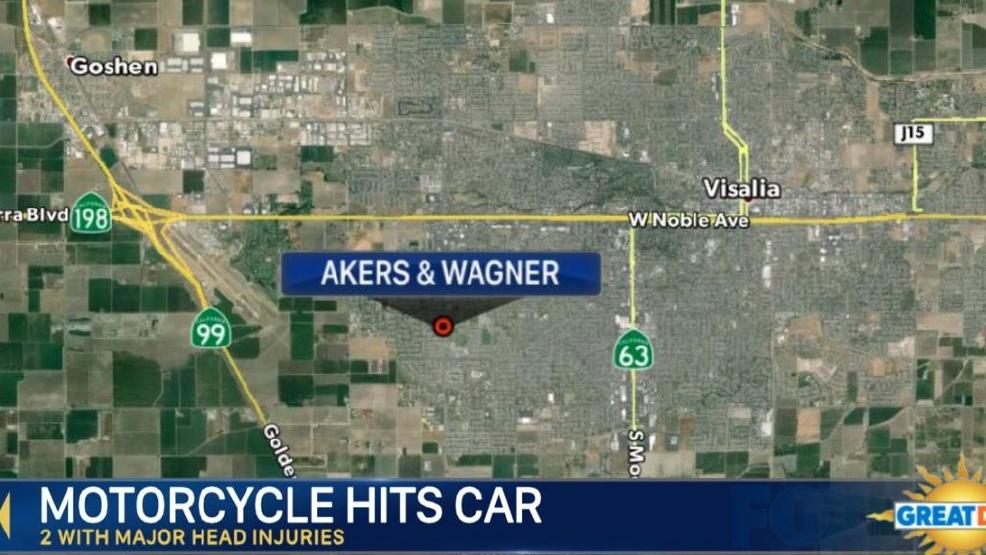 Motorcycle Rider Killed In Visalia Crash | KMPH