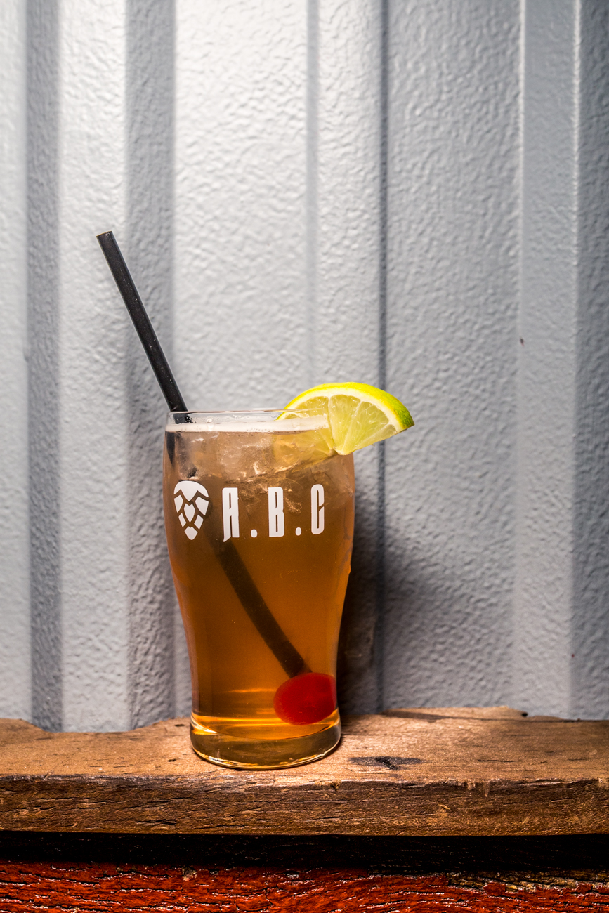 Alexandria Mule: New Riff Bourbon, house-made Ginger Beer, lime, and cherry / Image: Catherine Viox