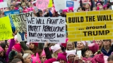 Women descend on DC to push back against new president