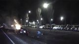 VIDEO: Heroes save driver from burning car