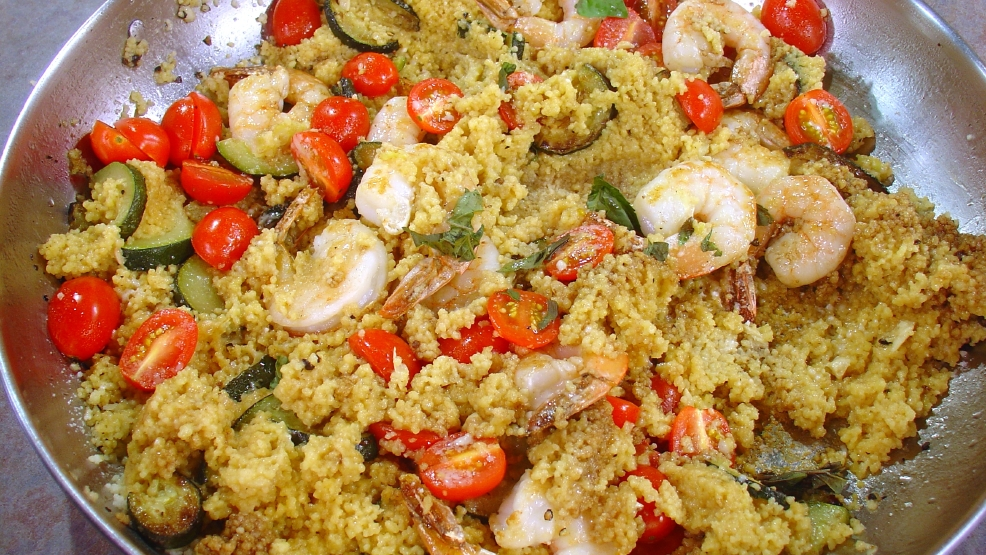 Shrimp Couscous