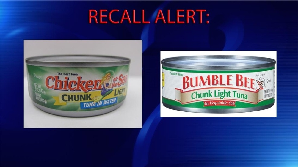 Two tuna companies recall cans of fish out of 39 an for Tuna fish brands