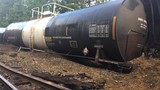 Train derailment spills fuel near U.S. 601