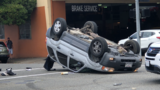 EPD: Rollover accident at H and 6th Streets in Eureka likely caused by red light violation