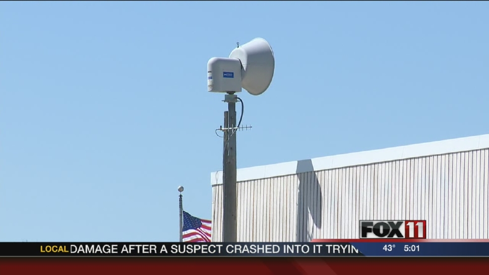 Siren testing in Outagamie County