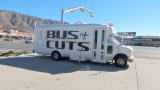 Barbershop on wheels