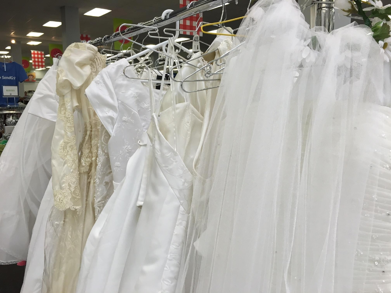 Anonymous Donor Gives 1 000 New Wedding Dresses To Provo Deseret Industries