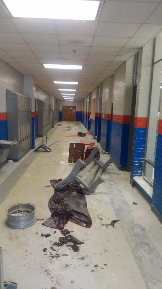 An investigation is underway at Turner County High School after investigators said what was meant to be a school prank, went too far. / Turner County Sheriff's Office