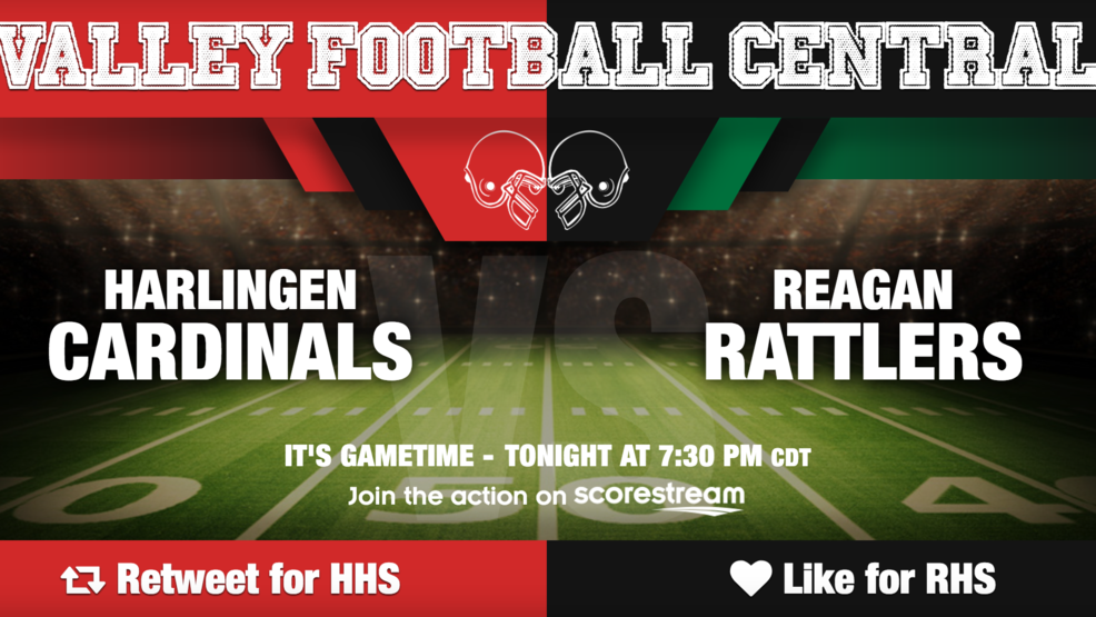 Listen Live: San Antonio Reagan Rattlers at Harlingen Cardinals
