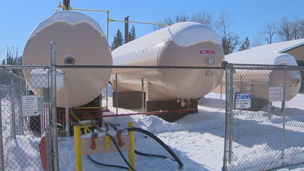 Customer's Gas in Amberg says it received a shipment of propane over the weekend.