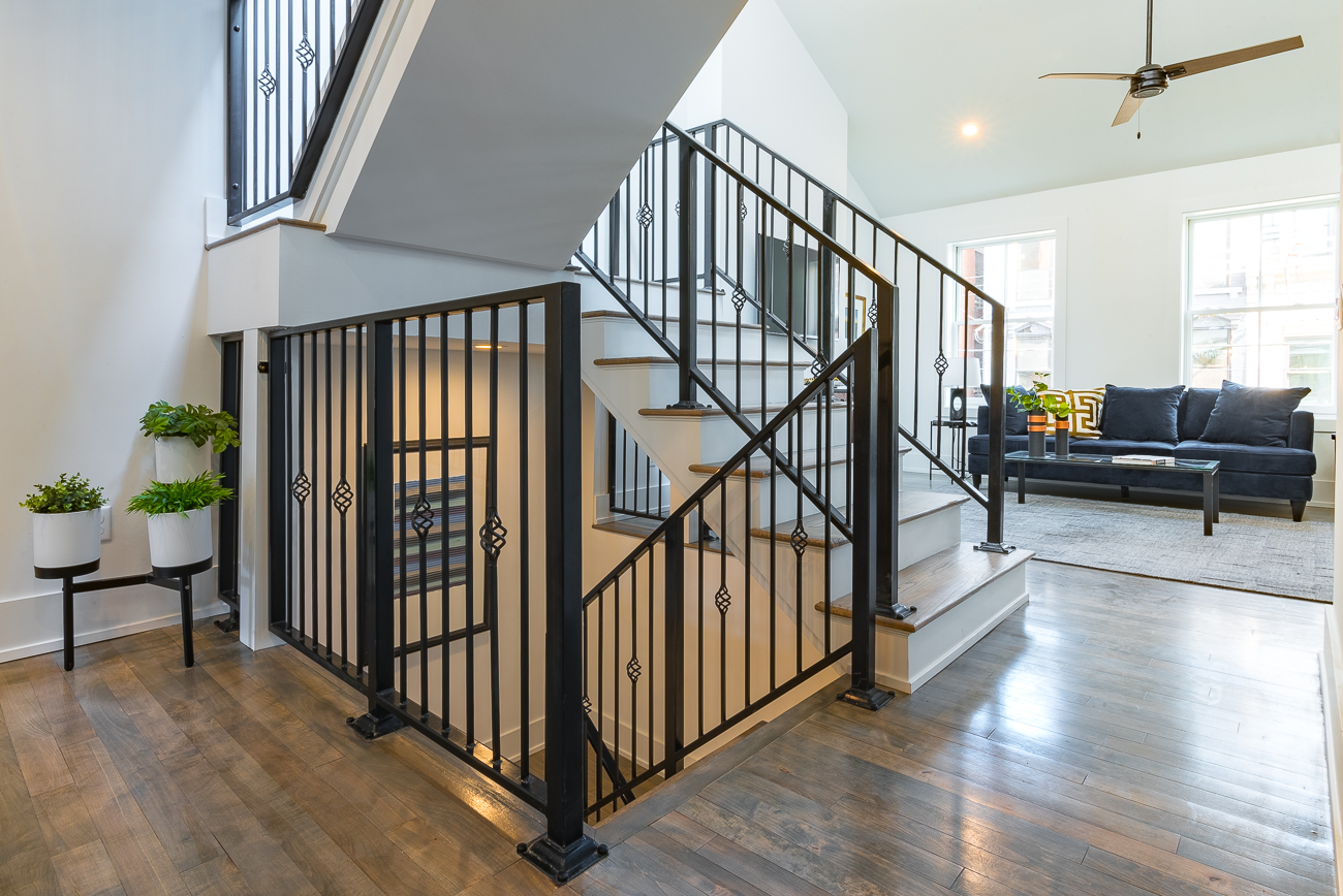 The main staircase / Image: Phil Armstrong, Cincinnati Refined // Published: 2.4.19