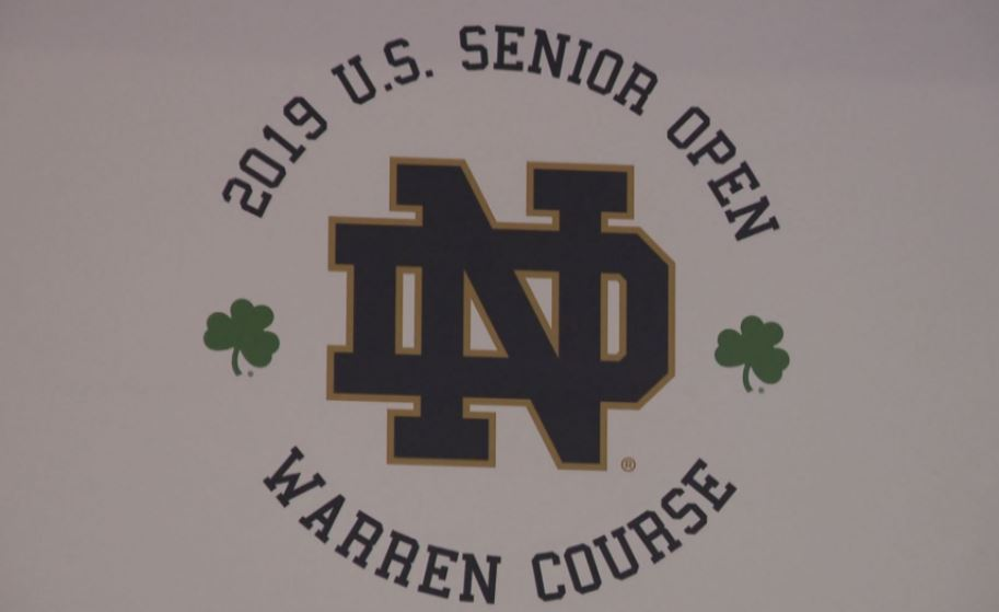 2019 U.S. Senior Open logo // WSBT 22 Photo