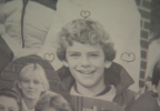 A picture of Seahawks general manager John Schneider in a De Pere, Wisconsin elementary school yearbook.