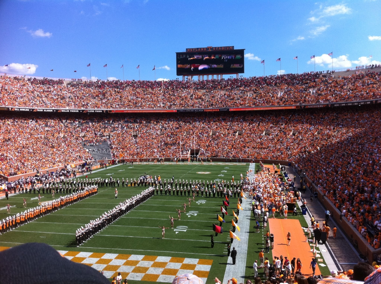 FILE: Neyland Stadium at University of Tennessee- Knoxville (Kaylin Searles)
