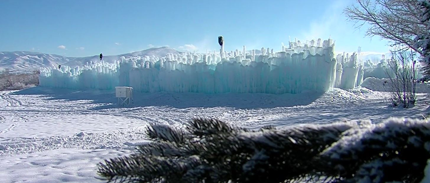 Midway Ice Castles closing due to warm weather (Photo: KUTV)