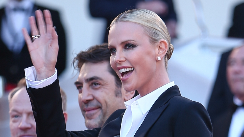 Charlize Theron's son dressed as Elsa creates social media firestorm