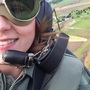 KLEW News Reporter Kaila Lafferty takes a flight on 1941 Ryan PT 22 airplane