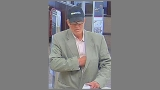 Man wearing baseball cap, sport coat wanted for robbery at Wells Fargo Bank in Fairfax Co.