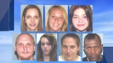 Seven arrested in Steubenville drug bust