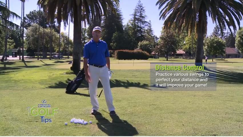 In this tip, Tommy Masters shows you how to control distance by shortening your swing.