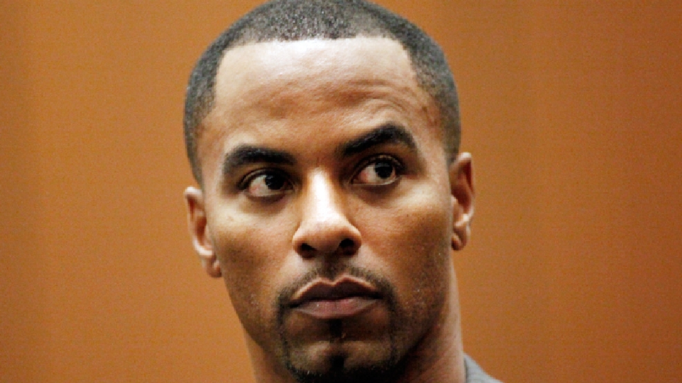 FILE - This Feb. 20, 2014 file photo shows former NFL safety Darren Sharper appearing in Los Angeles Superior Court in Los Angeles. (AP Photo/Los Angeles Times, Bob Chamberlin, Pool)