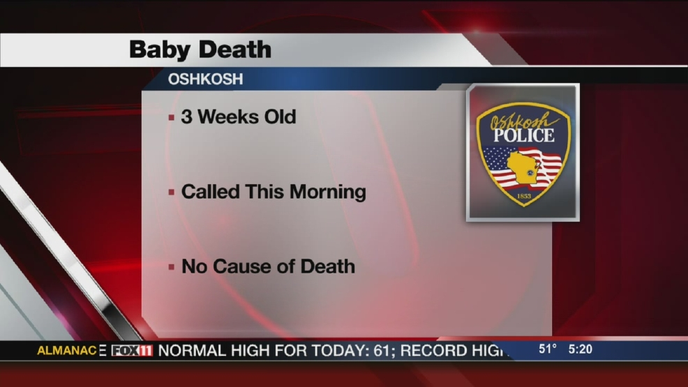 Oshkosh infant death under investigation